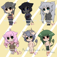 Adoptable Batch OPEN by MechanicMocha
