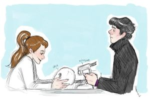 SHERLOLLY: Head Canon by Kenndaljustfreaking
