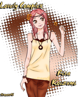 Lovely Complex - Risa Koizumi by 14manu96