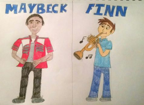 Maybeck and Finn (Kingdom Keepers #1) by Sparrow12592