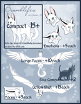 Reference Sheet Price Chart by IridescentMirage