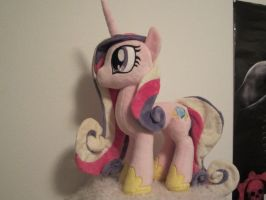 princess cadence WIP by Little-Broy-Peep