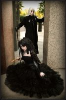 Bellatrix and Lucius by Maru-Light