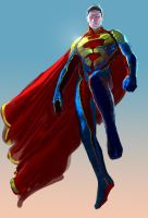 Superman redesign by catalinianos