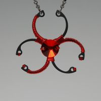 Biohazard Red v2- SOLD by YouniquelyChic