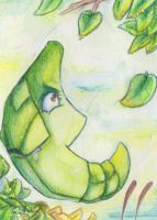 Pokemon Safcon aka Metapod by R-a-t-t-a-t-a