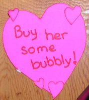 valentine sign by celacia