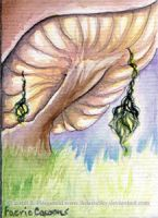 Faery Cacoons ACEO by SashaFitzgerald