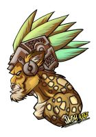 Aztec Kitty by Jaehthebird