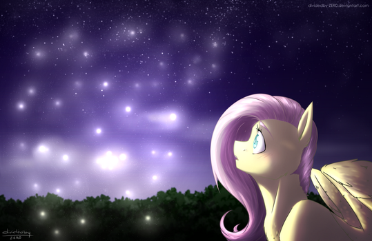 Fireflies by dividedby-ZER0