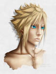 Cloud portrait by TifaxLockhart