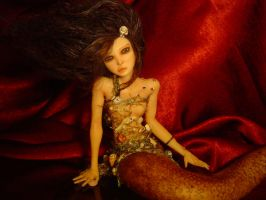 Water Fairy Mermaid Ra Chell by LindaJaneThomas