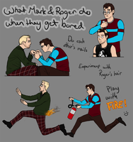 2011 Mark and Roger get bored by harbek