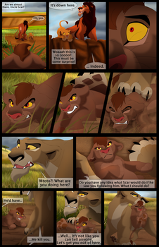 Mufasa's Reign: Chapter 1: Page 23 by albinoraven666fanart