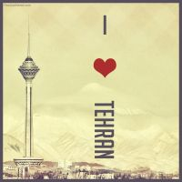 I Love Tehran by Pouriya-Ahmadi