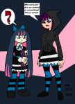 Stocking, Meet Your Counterpart. by VectorMagnus2011