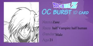 Zane oc burst id card by legendarybrol