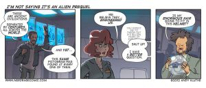 Nerd Rage - I'm Not Saying It's an Alien Prequel by AndyKluthe