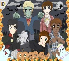 Happy Halloween One Direction by OneDirectionFanJohn