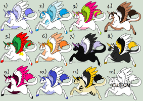FREE Pegasus Adopts~OPEN by Evelent