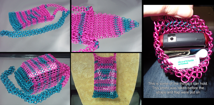Chainmail Purse / Festival Bag by Pharewings