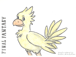 Chocobo by ch1ps0h0y