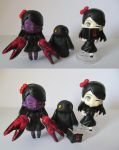 Custom Nendoroid - They Bleed Pixels - Clawgirl by Shakahnna