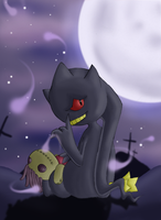 :Dark Ritual: Banette by endless-whispers