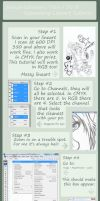 Lineart Tutorial by afangirlsdream