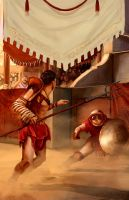 BOOK_COVER_ROMAN_MYTHOLOGY by donmalo