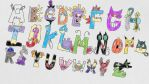 Pokemon Alphabet by Dave-Sledge-Bro