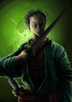 Zoro Speed Paint by ShinyGazza