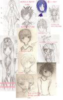 Sketch Dump by Lalune-hime