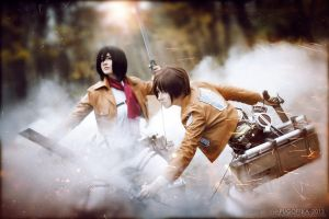 Attack On Titan: Fight! by Misaki-Sai