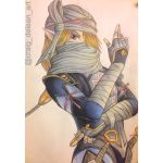 Shiek:hyrule warriors by Mimibert