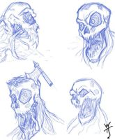 Zombie dudes with video! by WatchTehTail
