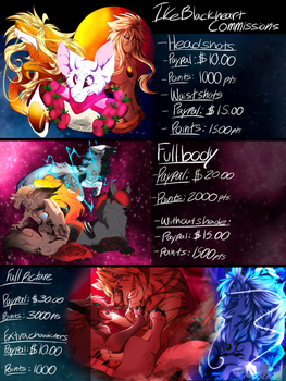 New commission list 2017 (Open) by Ikeblackheart666