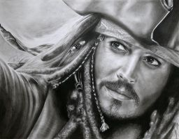 Captain Jack Sparrow by stars-art
