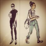 fashion girls from pinterest 7min 2 by juanperes1984