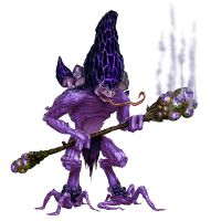 Violet Fungus Goblin by MichaelJaecks