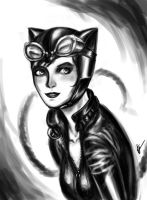 Catwoman by Perronegro300