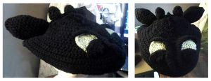 Toothless Hat - Crochet by animephoenix
