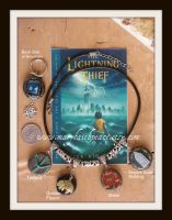 Percy Jackson Beaded Necklace by maryfaithpeace