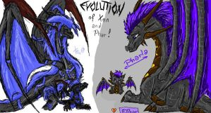 Evolution of Xen and Phar by Drachenzeichnerin