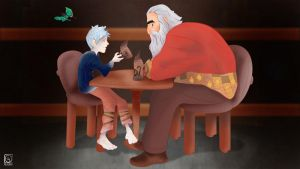 RotG Jack Frost and North by jackcrowder