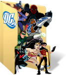 DC Animated Universe Folder Icon by GreedLin
