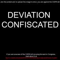 Down With CISPA by creepsome