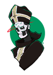 Stand by Him - Papa Emeritus I by ByNax