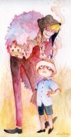 Corazon and little Law by faQy