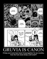 Gruvia is canon. GrayLu is dead. Deal with it. by DA125